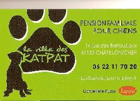 La villa des katpat Châtillon sur Cher