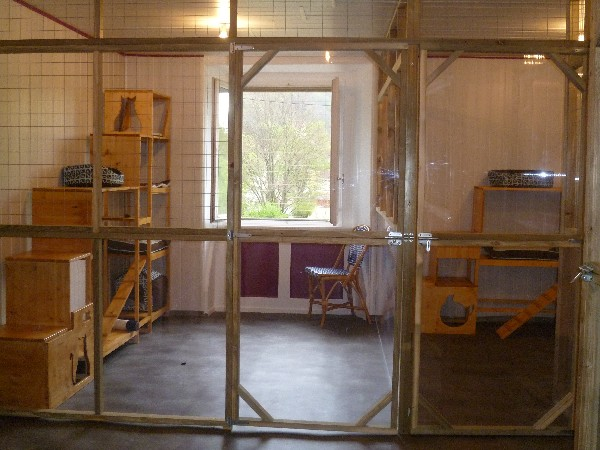 Le Chat Perché propose des chambres individuelles ou partagées.